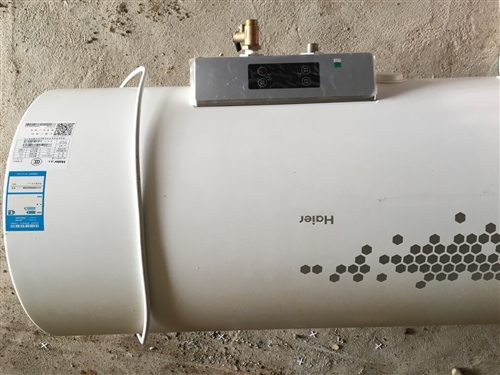 九成新海爾熱水器。長年在外打工閑著現低價出售