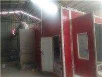 新喷漆房带光氧催化设备!用不到一年