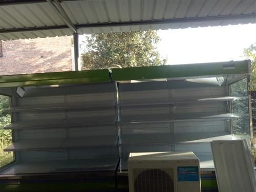 水果風幕柜,4米長九九成新!