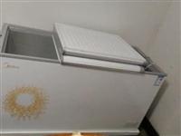 美的雙溫冰柜311升9點8成新、價格面議 電話15286438868