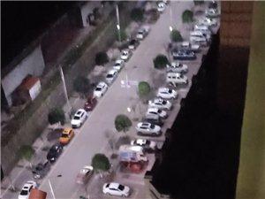 广安万城首座停车库不让业主进