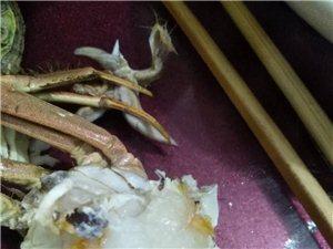 城�|便民市��γ尜u的螃蟹里面都是�z!