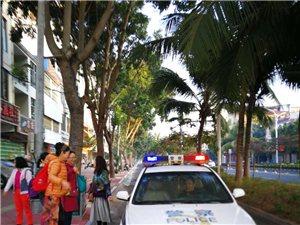 儋州警察热心服务暖民心