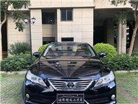 豐田銳志2011年3月份、自用私家車、排量2.5、一公里差不多6毛、沒有事故沒泡水。