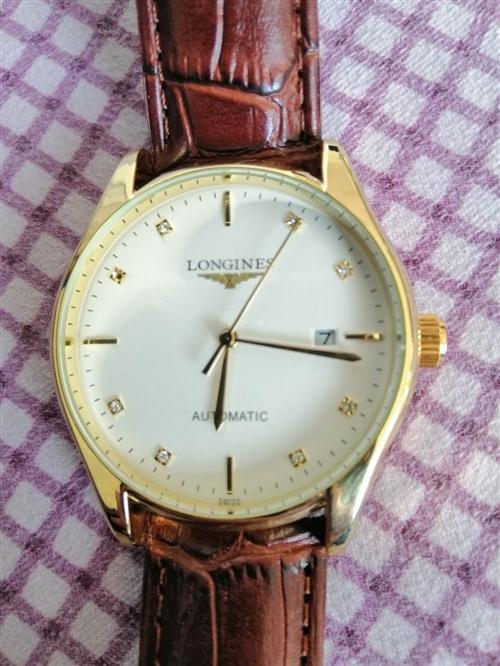 本人出售浪琴品牌手表!全自动的!**的!有男士的女士的!原价2999的!现价1000!需要的朋友们抓...