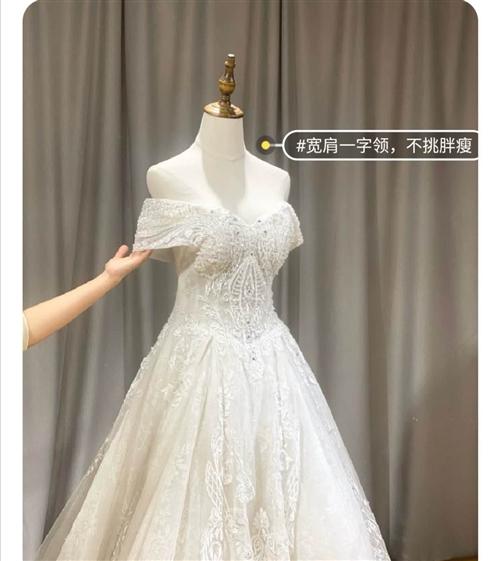 婚紗特別大,腰下裙擺3米,驚艷全?。。?! 只租不賣,450元3天,可免費試穿,有需要致電15216...
