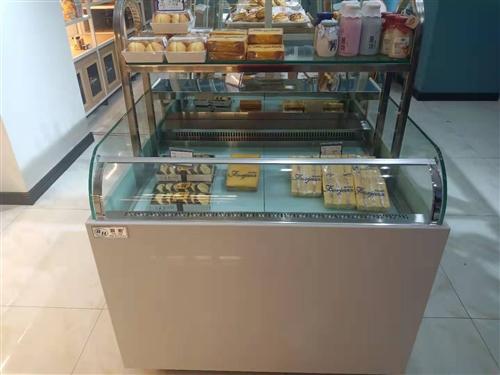 出售中岛柜,边岛柜,西点柜,常温蛋糕柜,蛋糕模型柜,餐盘柜,九成新(使用5个月)