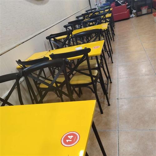因店面转型,现?#22270;?#22788;理九成新桌椅共十套。桌子1米2x80,椅子?#21592;?#21487;询价。入手价680的,忍痛处理给...