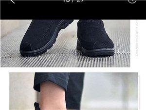 加绒潮流小布鞋