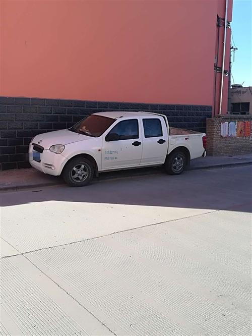 2012年风骏3汽油皮卡,低价出售,非诚勿扰,联系电话:13789694060