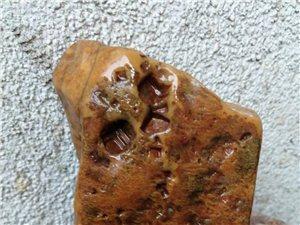 传说中的中国印一一还是黄蜡石哦一一我的那些年收藏的奇石之一一一中国印