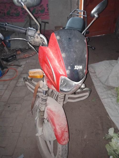 2009年五成新中華125摩托車一輛,三陽機器,至今跑了一萬三千多公里,車況良好,地址:滑縣萬古鎮,...