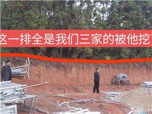 唐江��L音村��占他人地方�`建房村委只手遮天