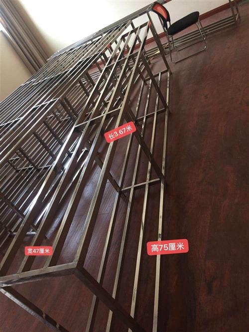 304不锈钢新料框架转让,适用厂房作业、店面堆货、阳台种花、院子里放东西、仓库储物,数量有限,需要可...