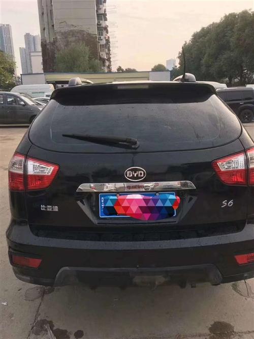 2012年比亞迪S6,實表7萬多公里。個人私家車