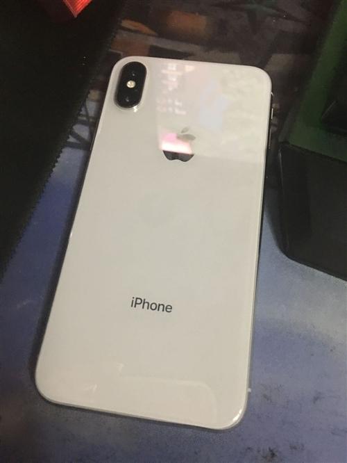 出售一台自用苹果X全原装64G内存白色