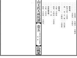 修宗谱寻望江吉(汲)水沟宗亲