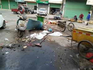 这就是卫生城市?垃圾成群,还卫生城市?