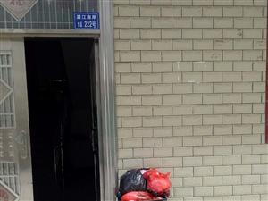 这个星期门口的垃圾一直没人倒