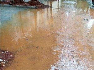 建亨上城小�^改造施工方�]有做排水口