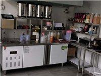 水吧飲品店,全套設備,可帶技術,材料      平冷柜一臺,保溫桶四個,制冰機一臺,蒸汽...