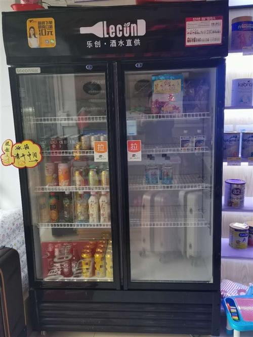 乐创两门冰柜,9成新,没有任何问题,现低价出售