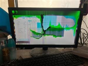 本人出售一台家用台式电脑只是屏幕坏了其他的都好有想看电脑的联系我 电话18754168833 微...