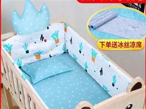 婴儿床九成新