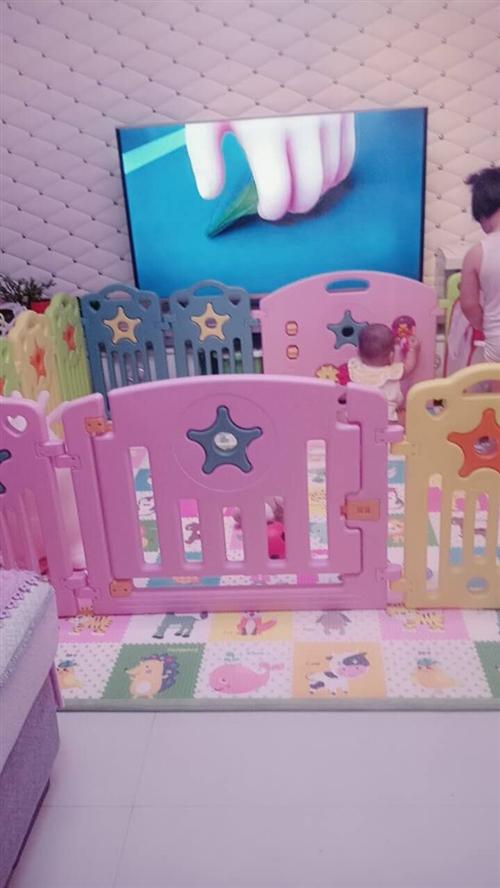 宝宝围栏20片带垫子,九成新。有意者价格面谈