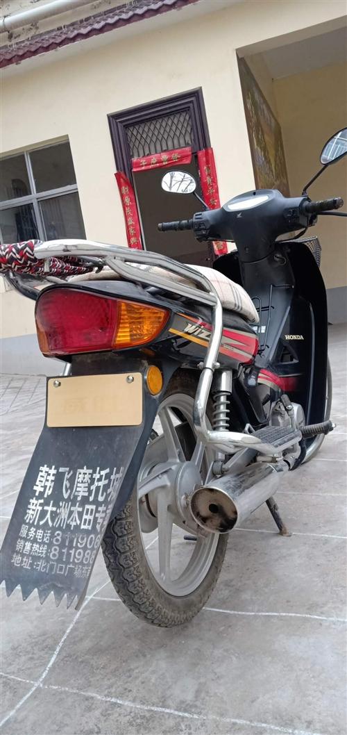 本人新大洲本田摩托車一輛出售