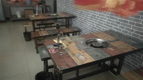 火锅店用全套设备,切肉机,空调,甲醇灶,冰柜,桌椅板凳,灶头,各种火锅用锅