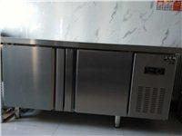 新的白钢操作台保鲜柜,只用五天,160*60