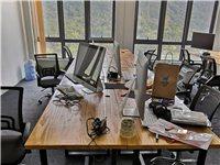 本公司因业务变迁,场地转让,现有一系列定制实木办公桌椅等办公设备急需转让 办公桌椅28套9成新 (...