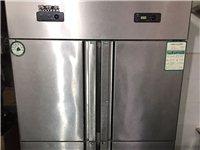 四开门冰箱,上层结冻,下层保鲜,**刚用半年