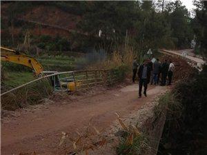 利村到下渭的路,修桥未铺设辅道?