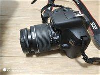出售佳能1300D單反相機,使用5次左右,95成新,無任何磕碰。