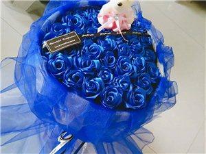 玉门境内私人订制丝带玫瑰(送货上门)