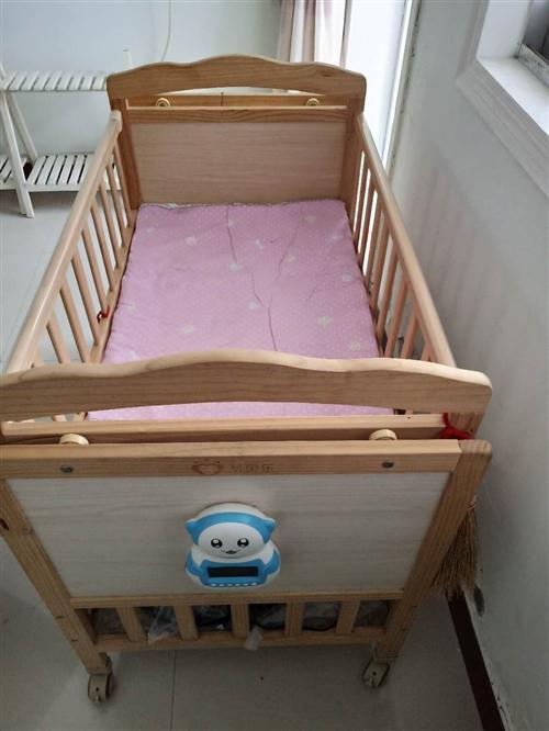 宝宝床九成新价格可谈有意请联系