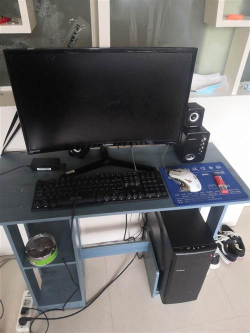 出售台式电脑一台,显示器,三星21寸,高配置,价格3000.!有意者联系电话18198560226