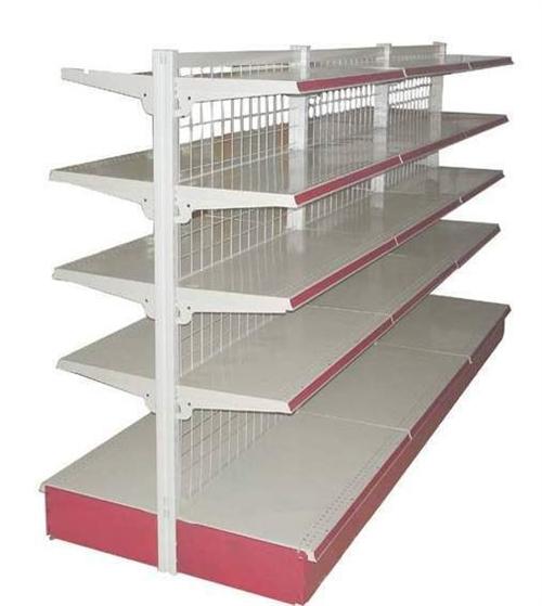 我有三组双面和一组单面超市货架与一个美容床便宜就近出售,有需要的话联系我13280992963