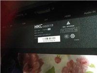 hkc x3显示器24寸 1920x1080 144hz刷新率 玩fps类游戏很爽,不玩的看个直播...