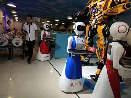 老板外地人多個店來回奔波不便,有意將成熟店面臨泉**有特色的機器人餐廳轉讓或者尋找合作老板管理,非誠...