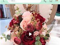 婚车头花?新娘手捧花,九成新,打包价400元包邮