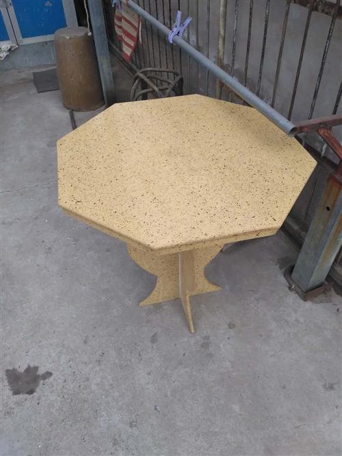 純手工大理石八仙桌