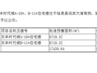 农丰时代城商品房预售许可公示(十一)