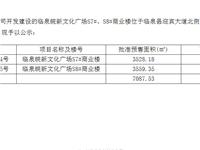 临泉皖新文化广场商品房预售许可公示(八)
