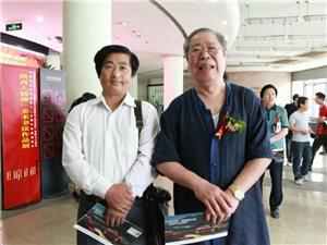和陕西省书协名誉主席吴三大先生合影