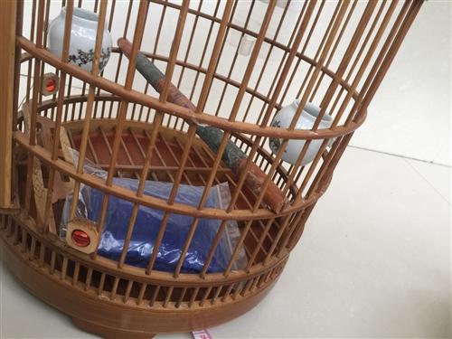 大的老料竹笼子55,不锈钢55,小的全部30,全部处理了。都是95新
