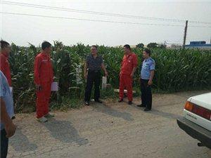 青州市公安局东夏派出所对输油管道进行深入排查